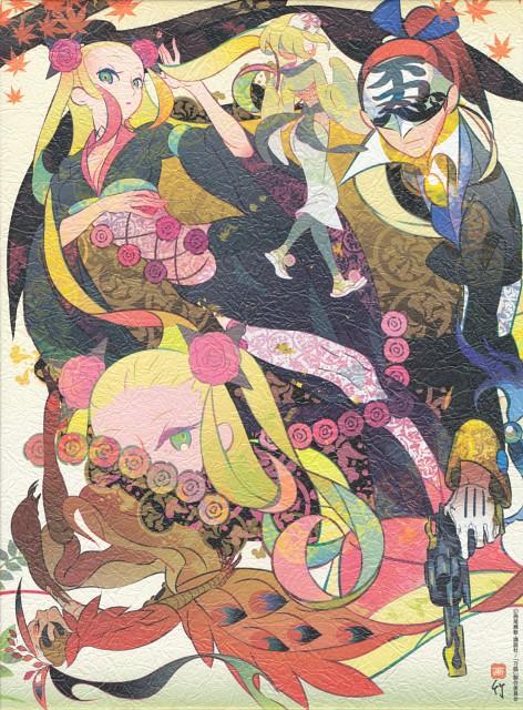 Take, White Fox, Katanagatari, Emonzaemon Souda, Houou Maniwa