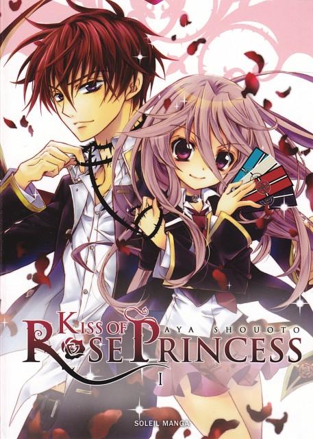 Aya Shouoto, Kiss of Rose Princess, Kaede Higa, Anise Yamamoto, Manga Cover