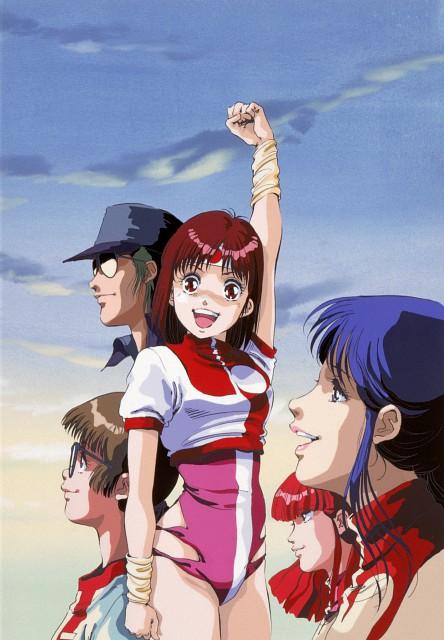 Yoshiyuki Sadamoto, Gainax, Top o Nerae! Gunbuster, Kimiko Higuchi, Noriko Takaya