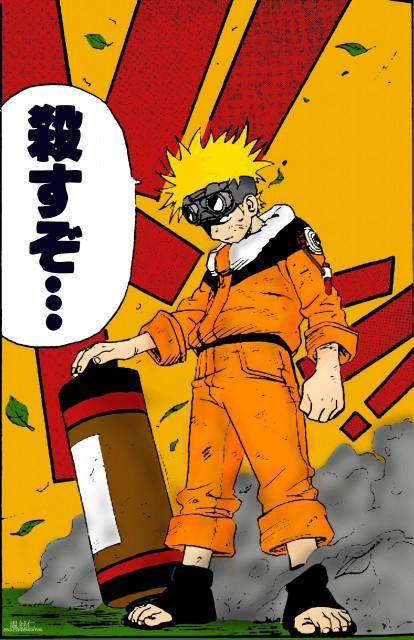 Studio Pierrot, Naruto, Naruto Uzumaki, Colorizations