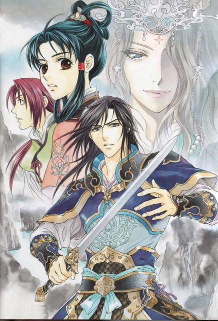 Kairi Yura, Madhouse, Saiunkoku Monogatari, Saiunkoku Monogatari Illustrations, Suou Shin