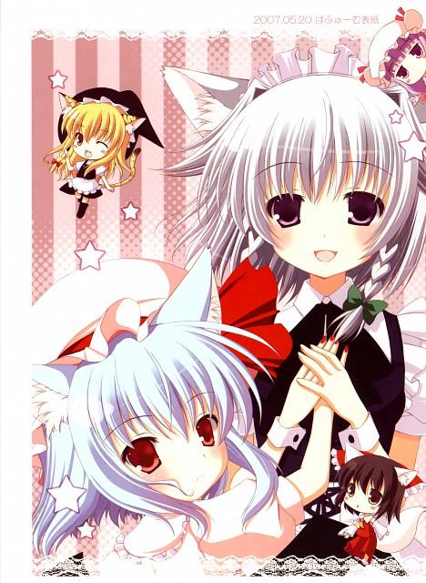 Futaba Miwa, PureGirl, Touhou, Sakuya Izayoi, Remilia Scarlet