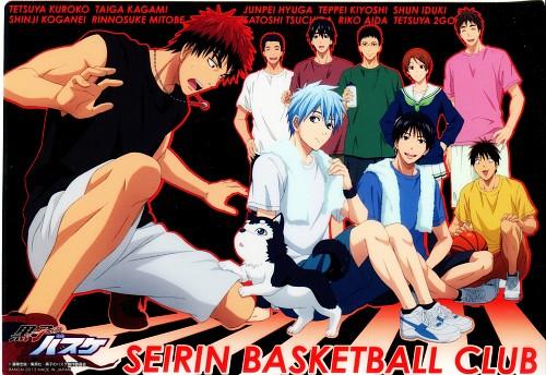 Tadatoshi Fujimaki, Production I.G, Kuroko no Basket, Shinji Koganei, Riko Aida