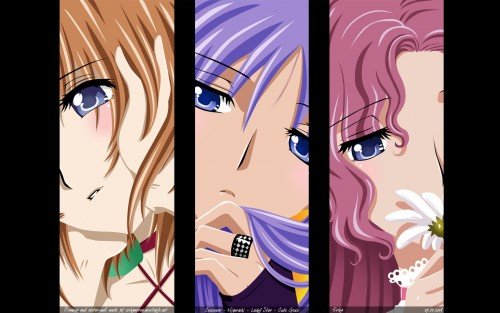 Lelouch of the Rebellion, Higurashi no Naku Koro ni, Lucky Star, Euphemia Li Britannia, Rena Ryuugu Wallpaper