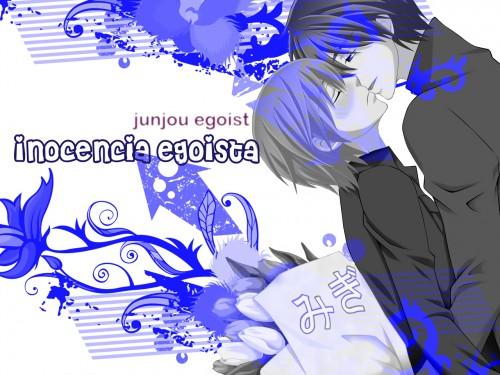 Shungiku Nakamura, Studio DEEN, Junjou Romantica, Hiroki Kamijou, Nowaki Kusama Wallpaper