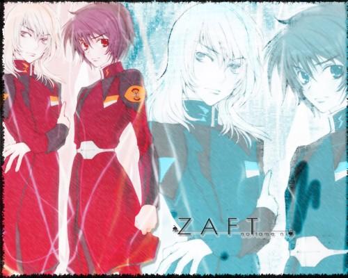 Sunrise (Studio), Mobile Suit Gundam SEED Destiny, Rey Za Burrel, Shinn Asuka, Doujinshi Wallpaper