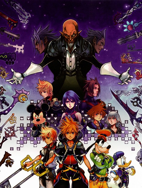 Square Enix, Kingdom Hearts Series Memorial Ultimania, Kingdom Hearts, Master Xehanort, Xemnas