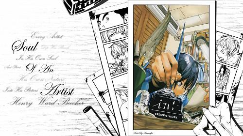 Takeshi Obata, J.C. Staff, Bakuman, Akito Takagi, Shinta Fukuda Wallpaper