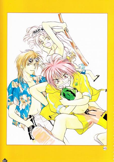 Maki Murakami, Studio DEEN, Gravitation, Gravitation Fan Book 2, Kumagoro