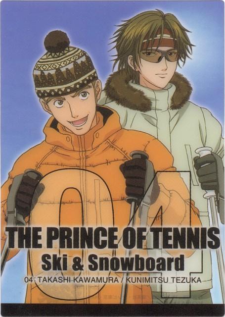 Takeshi Konomi, J.C. Staff, Prince of Tennis, Takashi Kawamura, Kunimitsu Tezuka