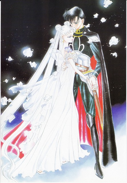 Naoko Takeuchi, Bishoujo Senshi Sailor Moon, BSSM Original Picture Collection Vol. I, Princess Serenity, Prince Endymion