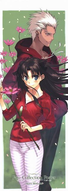 Shizuki Morii, Fate/stay night, Archer (Fate/stay night), Rin Tohsaka, Stick Poster