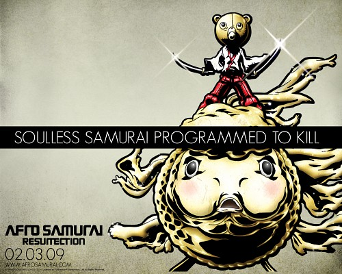 Gonzo, Afro Samurai, Official Wallpaper