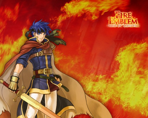 Senri Kita, Fire Emblem, Ike (Fire Emblem), Official Wallpaper, Occupations