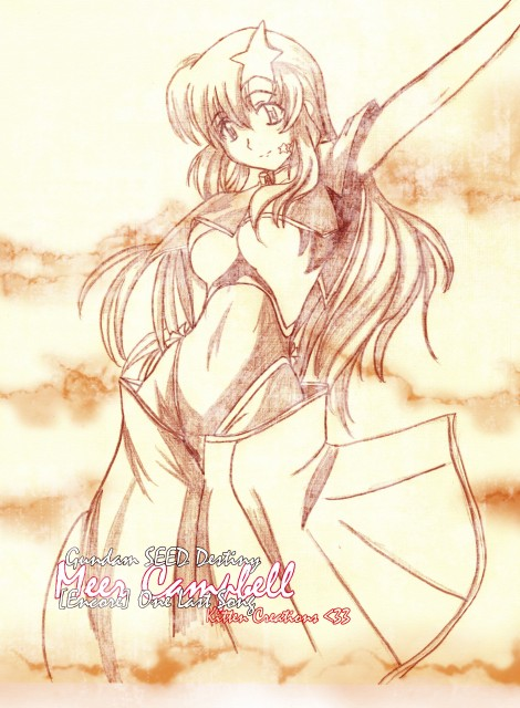Sunrise (Studio), Mobile Suit Gundam SEED Destiny, Meer Campbell, Member Art