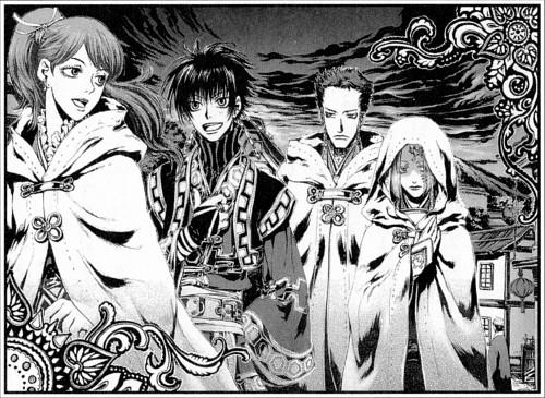 Shibamoto Thores, Tengai no Pashluna, Iisha, Shumuru, Asukaru
