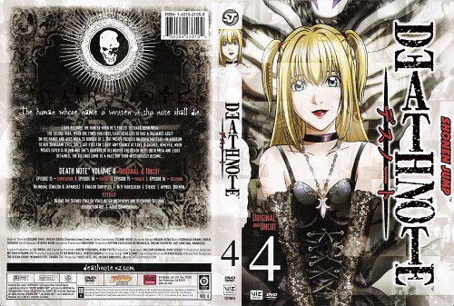 Madhouse, Death Note, Misa Amane, DVD Cover