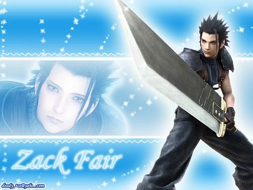 Square Enix, Final Fantasy VII: Crisis Core, Zack Fair Wallpaper