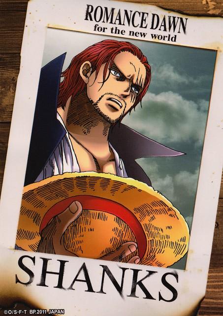 Eiichiro Oda, Toei Animation, One Piece, Shanks