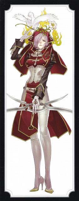 Shibamoto Thores, Gonzo, Trinity Blood, Paula Souwauski, Manga Cover