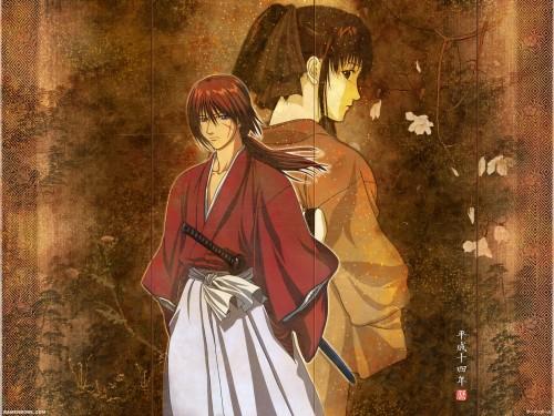 Nobuhiro Watsuki, Studio Deen, Rurouni Kenshin, Kaoru Kamiya, Kenshin Himura Wallpaper