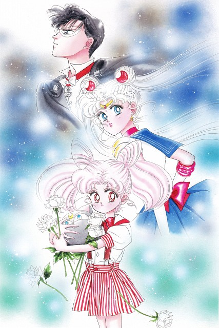 Naoko Takeuchi, Bishoujo Senshi Sailor Moon, BSSM Original Picture Collection Vol. II, Chibi Usa, Sailor Moon