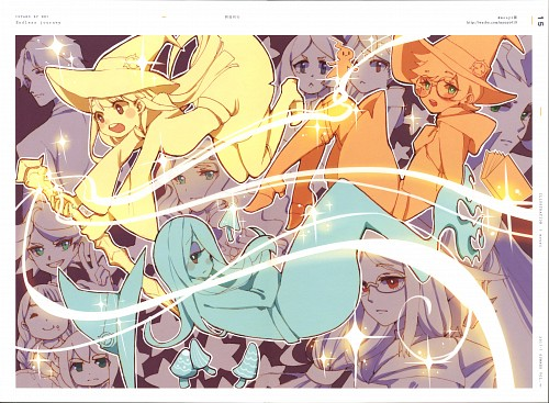 Trigger (Studio), Little Witch Academia, Stand By Me, Jasminka Antonenko, Barbara Parker