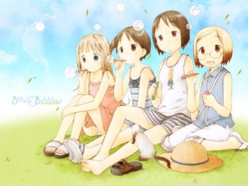 Barasui, Ichigo Mashimaro, Chika Itoh, Miu Matsuoka, Nobue Itoh Wallpaper