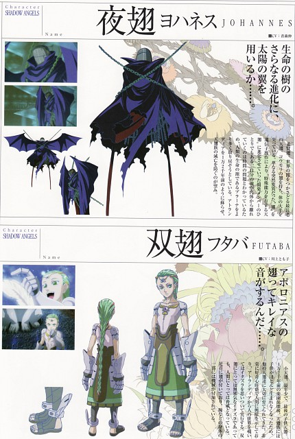 Sousei no Aquarion, Johannes, Futaba, Character Sheet