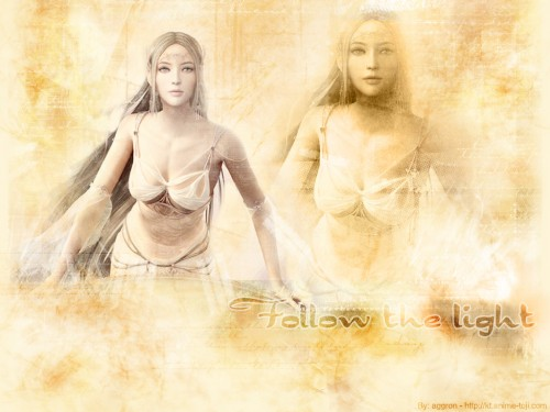 Eun Hee Choi, Shaiya - Light and Darkness, Raina Wallpaper