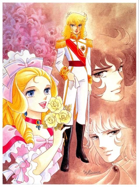 Riyoko Ikeda, Rose of Versailles, Andre Grandier, Oscar François de Jarjayes, Marie Antoinette