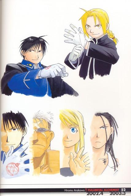 Hiromu Arakawa, Fullmetal Alchemist, Fullmetal Alchemist Artbook Vol. 1, Winry Rockbell, Izumi Curtis