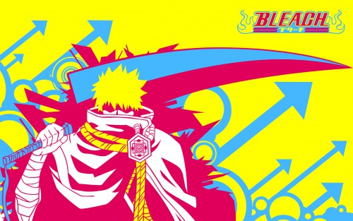 Kubo Tite, Studio Pierrot, Bleach, Ichigo Kurosaki, Vector Art Wallpaper