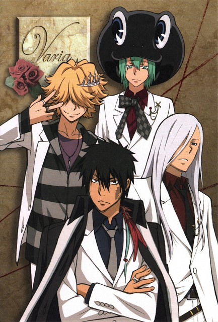 Akira Amano, Katekyo Hitman Reborn!, Xanxus, Fran, Belphegor (Katekyo Hitman Reborn!)