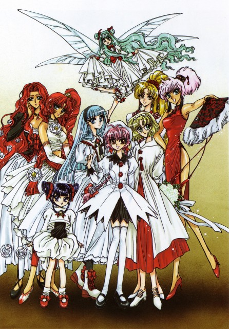 CLAMP, Magic Knight Rayearth, Magic Knight Rayearth 2 Illustrations Collection, Tarta, Primera