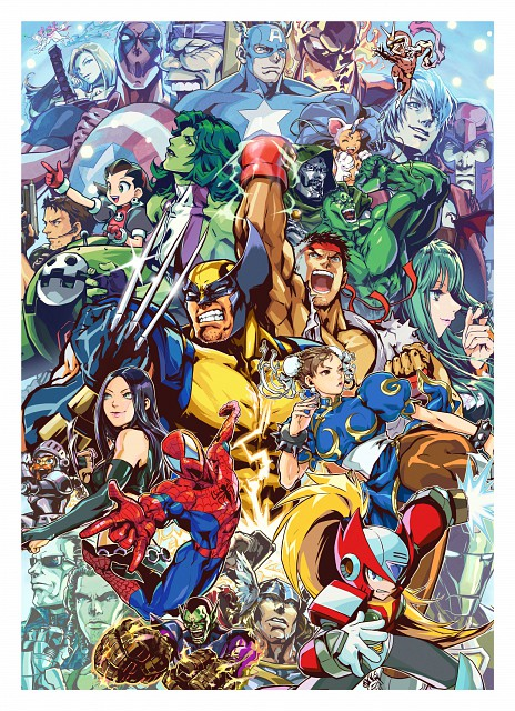 Marvel (Studio), Capcom, Ace Attorney, Marvel Vs Capcom 3, Street Fighter