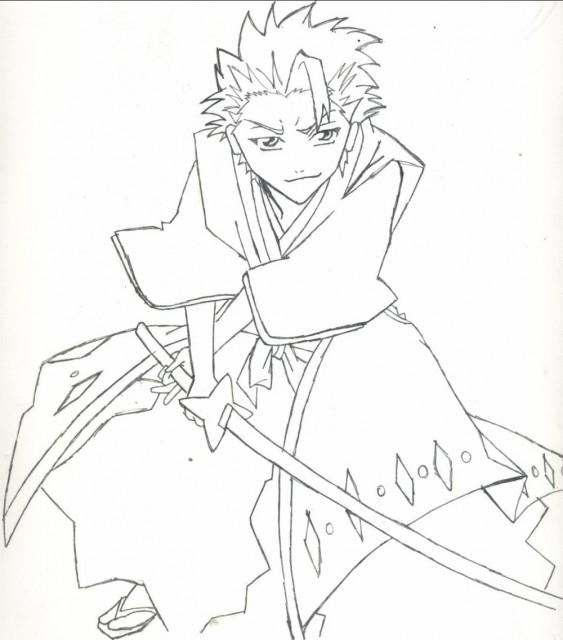 Kubo Tite, Studio Pierrot, Bleach, Toshiro Hitsugaya, Member Art
