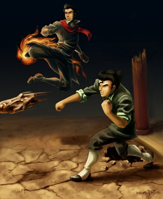The Legend of Korra, Bolin, Mako (The Legend of Korra), Member Art