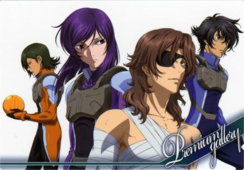 Mobile Suit Gundam 00, Lockon Stratos, Haro, Tieria Erde, Setsuna F. Seiei