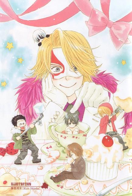 Rize Shinba, Togainu no Chi, Nano, Akira (Togainu no Chi), Kau