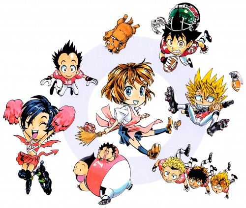 Yuusuke Murata, Studio Gallop, Eyeshield 21, Field of Colors, Yoichi Hiruma