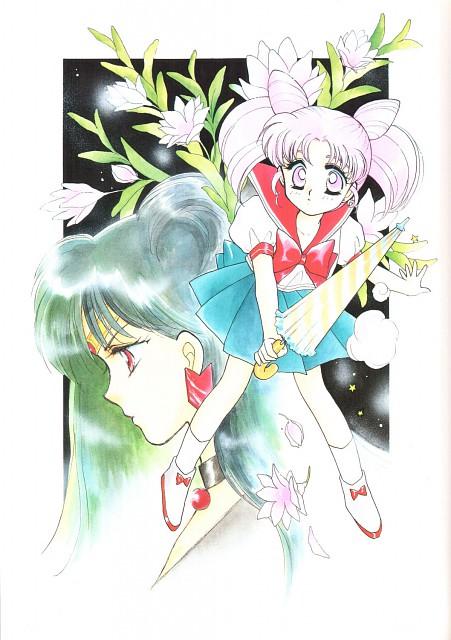 Bishoujo Senshi Sailor Moon, Chibi Usa, Sailor Pluto, Doujinshi