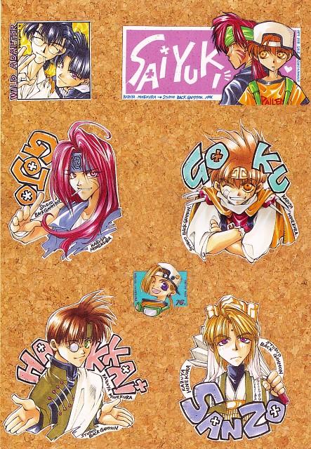 Kazuya Minekura, Studio Pierrot, Wild Adapter, Saiyuki, Makoto Kubota