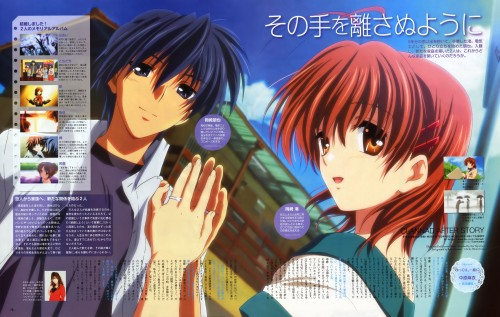 Kyoto Animation, Clannad, Nagisa Furukawa, Tomoya Okazaki