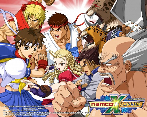 Capcom, Namco, Rival Schools, Namco x Capcom, Street Fighter