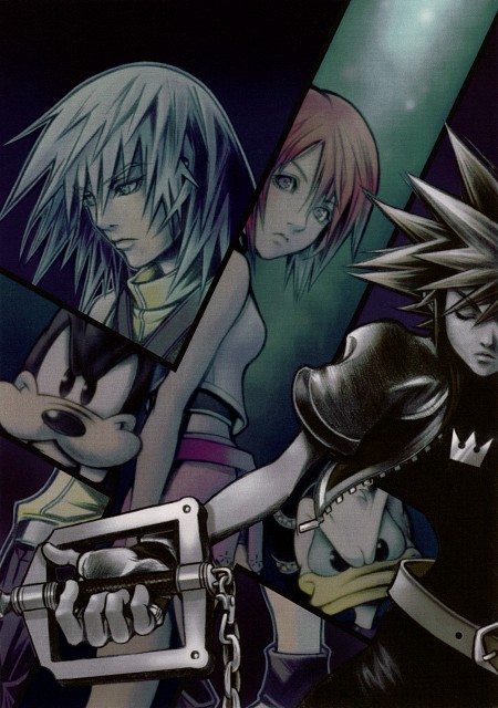 Square Enix, Kingdom Hearts Series Memorial Ultimania, Kingdom Hearts, Riku, Sora