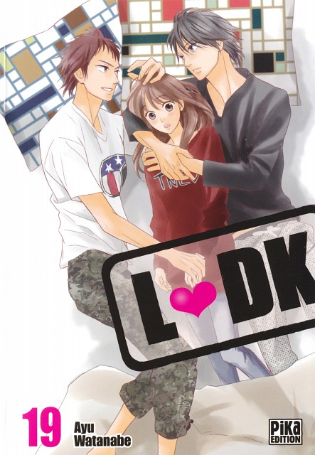 Ayu Watanabe, L DK, Aoi Nishimori, Shuusei Kugayama, Manga Cover