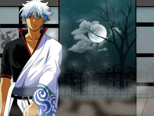 Sunrise (Studio), Gintama, Gintoki Sakata Wallpaper