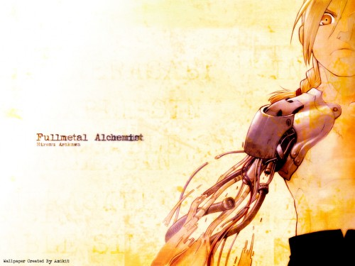 Hiromu Arakawa, BONES, Fullmetal Alchemist, Edward Elric Wallpaper