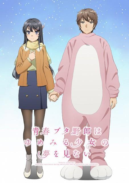 Keji Mizoguchi, Cloverworks, Seishun Buta Yarou wa Bunny Girl Senpai no Yume wo Minai, Sakuta Azusagawa, Mai Sakurajima